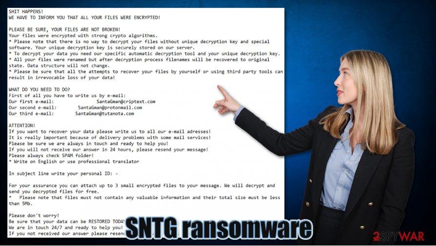 SNTG ransomware virus