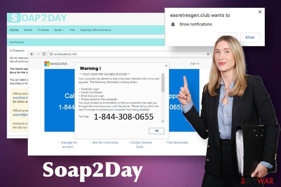 Soap2Day virus