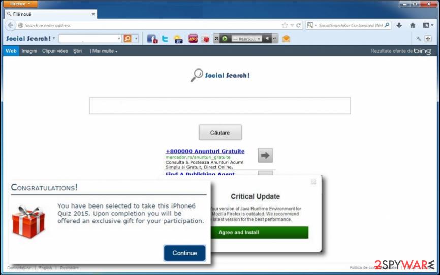 Social Search Toolbar