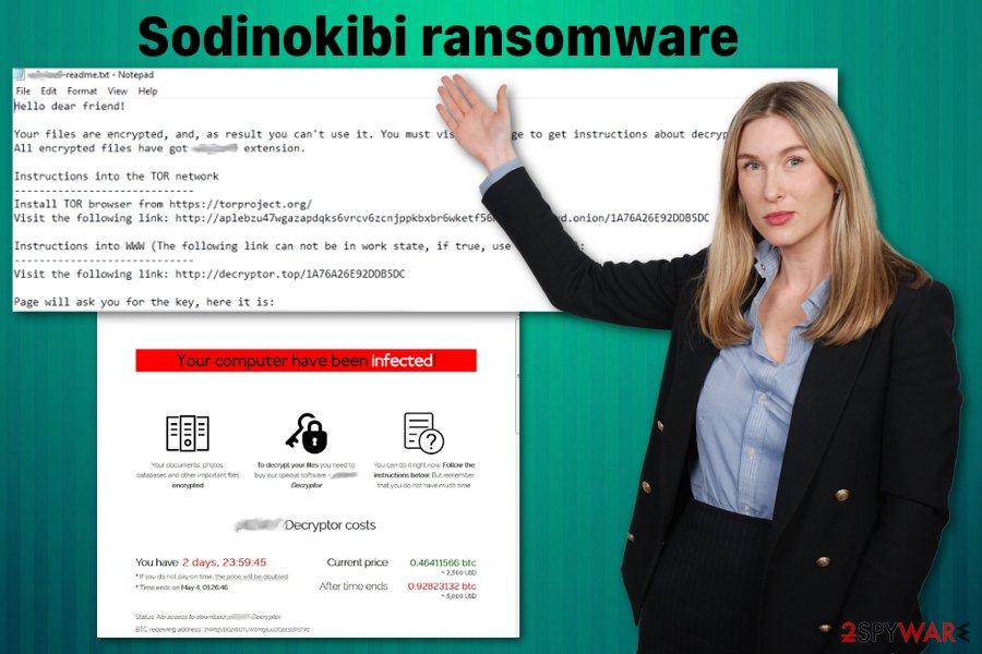 Sodinokibi ransomware virus