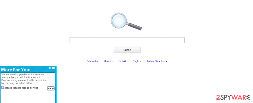 Softonic Search engine