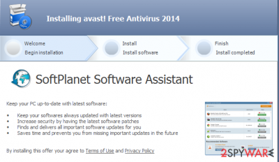 SoftPlanet Software Assistant removal