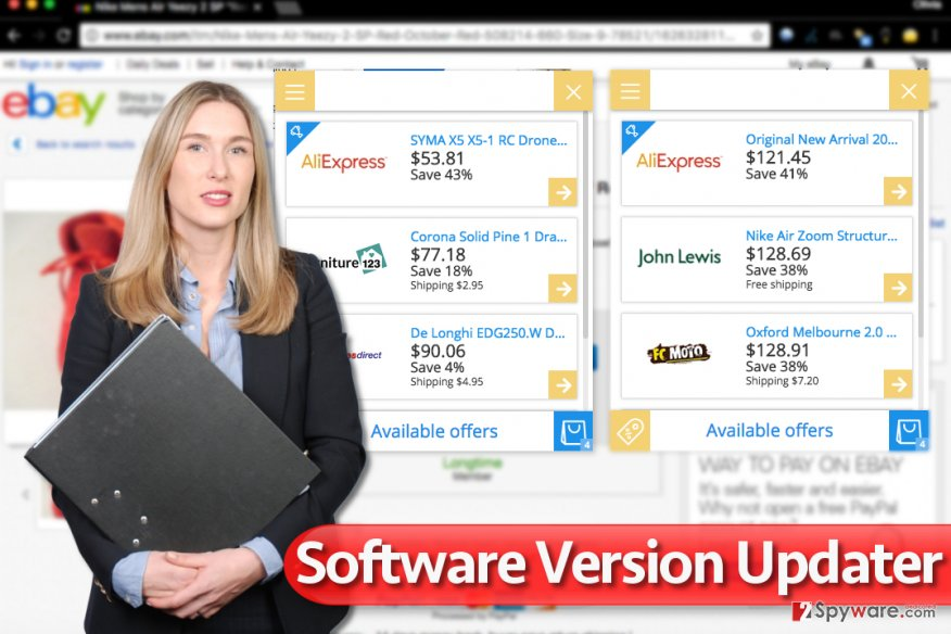 Software Version Updater ads