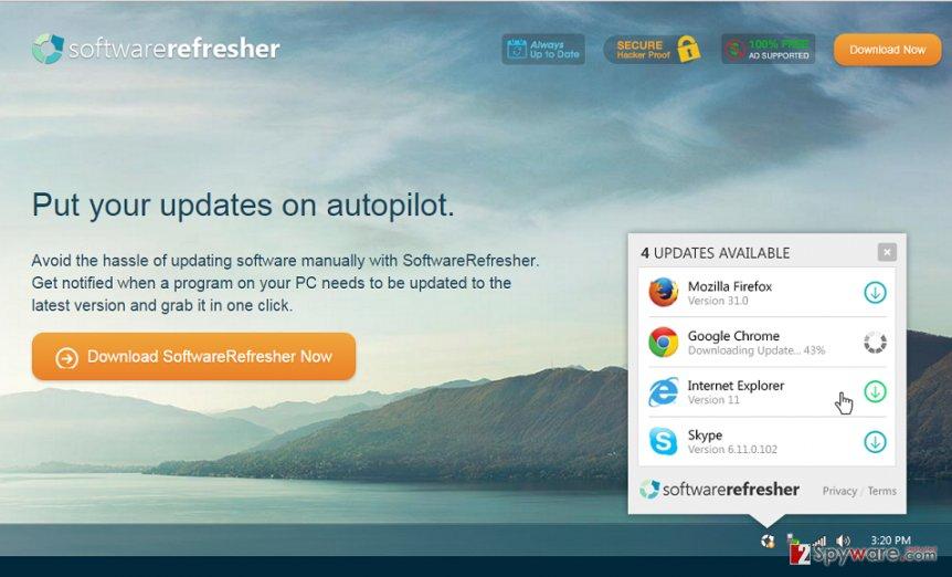 SoftwareRefresher snapshot