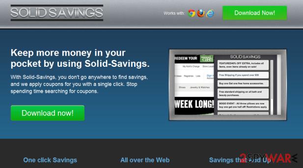 Solid Savings snapshot