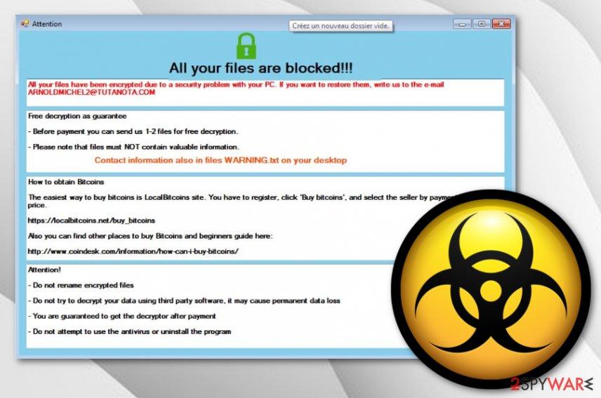 Somik1 ransomware virus