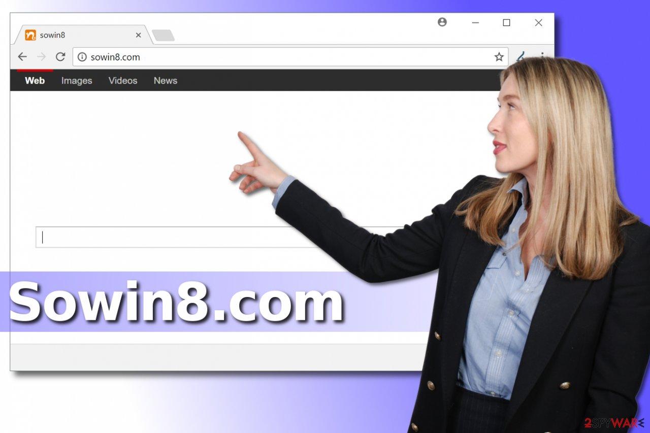 Sowin8.com browser hijacker
