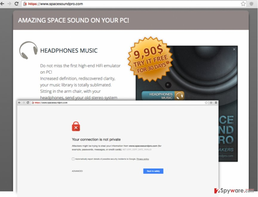 Remove SpaceSoundPro ads (Improved Guide) - updated Jul 2016