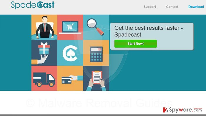 SpadeCast ads and SpadeCast deals snapshot