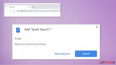 Spark Search hijack