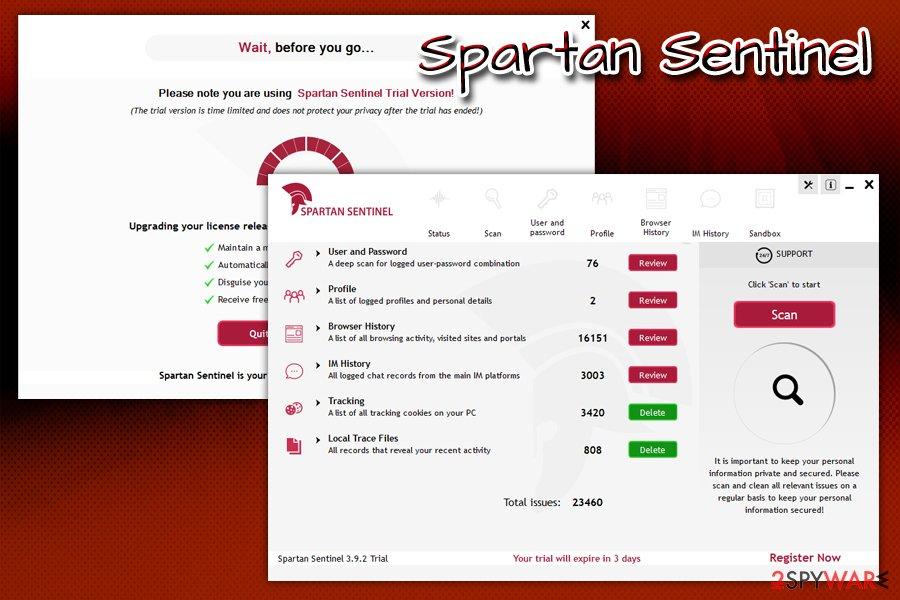 Spartan Sentinel PUP
