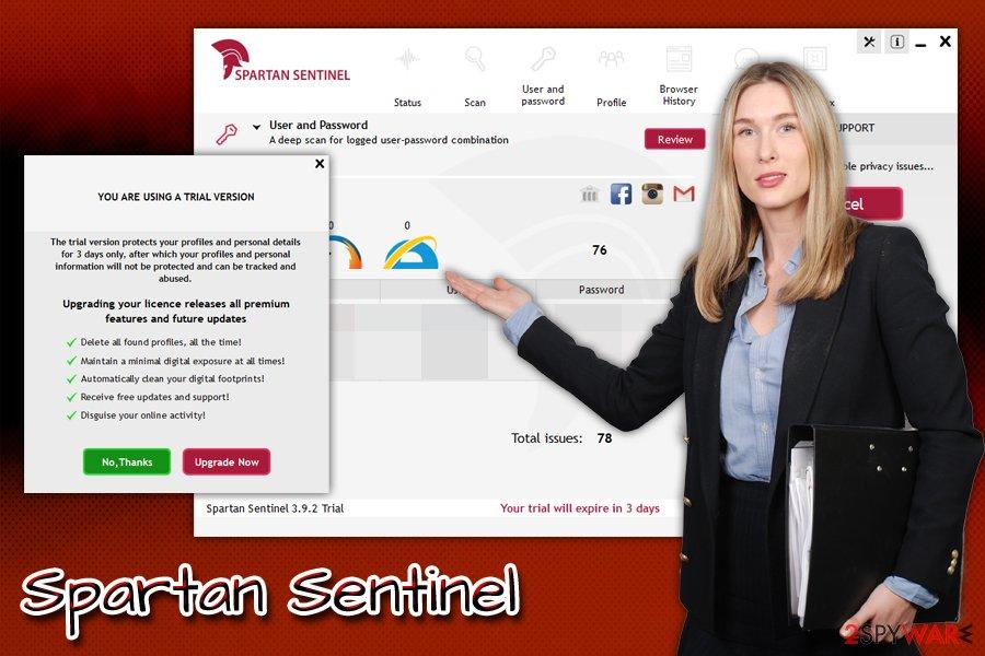 Spartan Sentinel hoax
