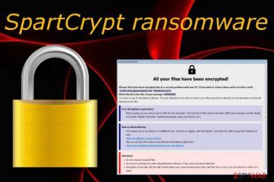 SpartCrypt ransomware virus