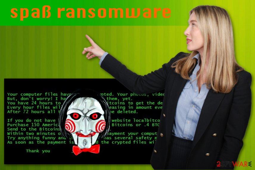 spaß ransomware virus