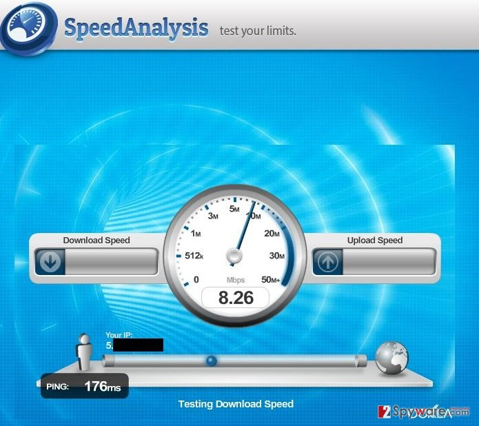 Speed Analysis snapshot