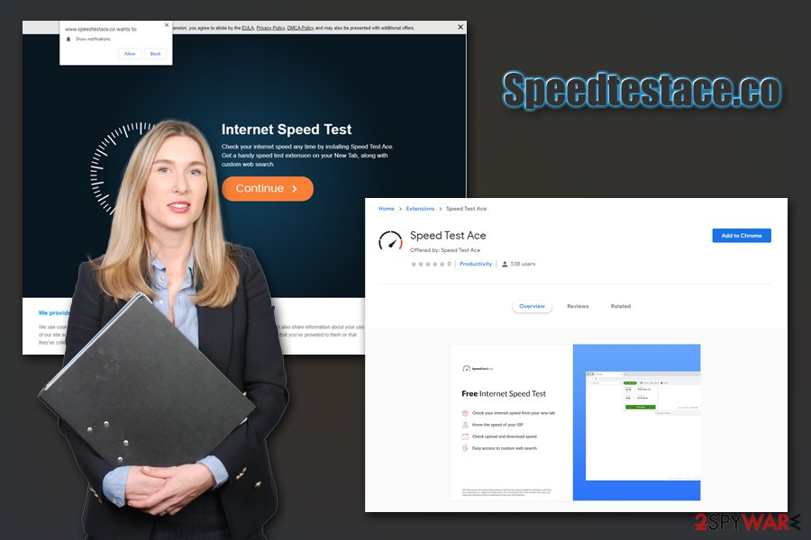 Speedtestace.co browser hijacker