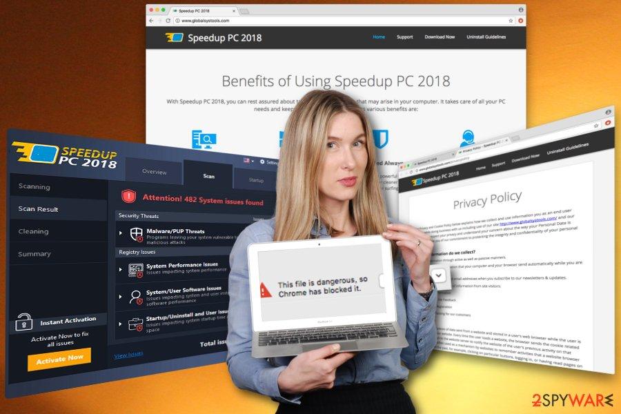 SpeedUpPC 2018 virus