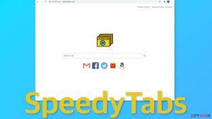SpeedyTabs browser hijacker