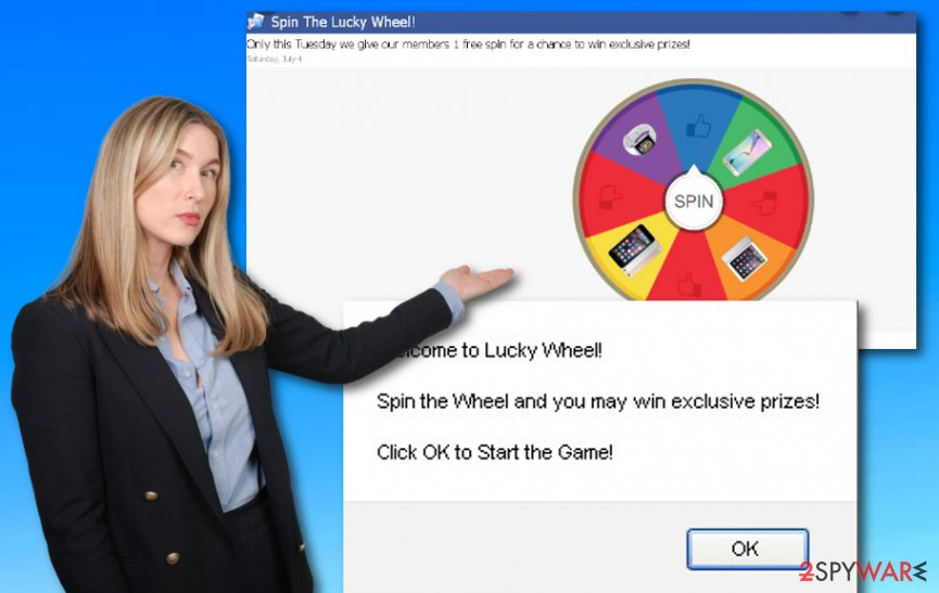 Spin The Lucky Wheel virus