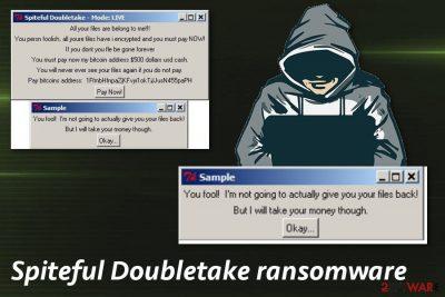 Spiteful Doubletake ransomware