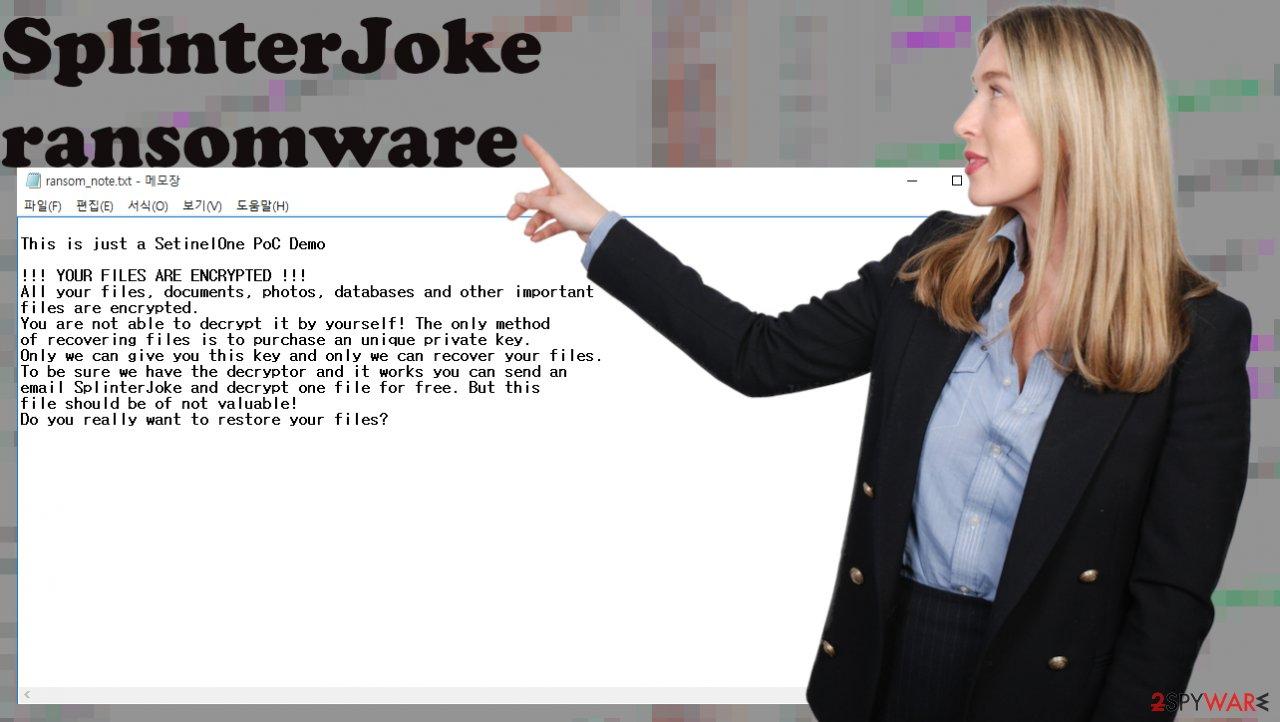 SplinterJoke virus