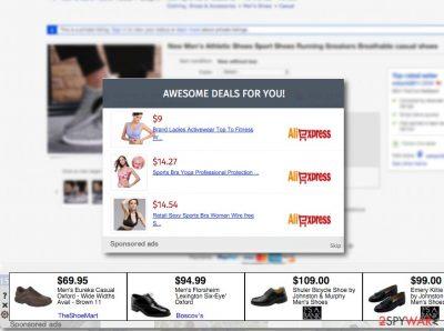 Sponsored ads virus