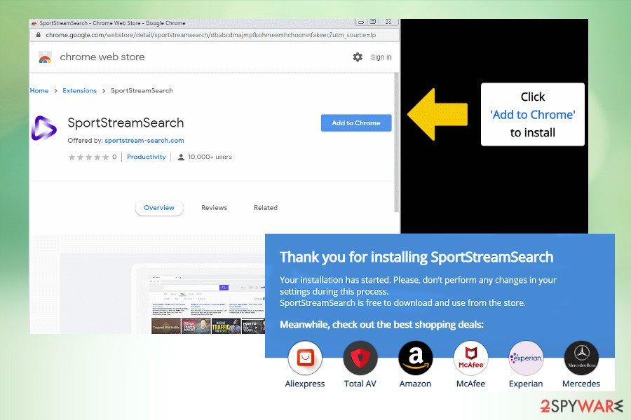 SportStreamSearch virus