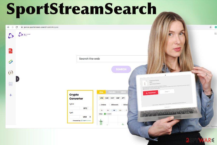 SportStreamSearch hijack