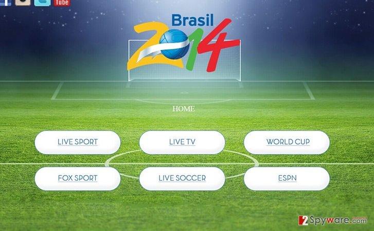 Sporttvstream.info snapshot