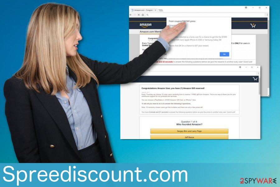 Spreediscount.com virus