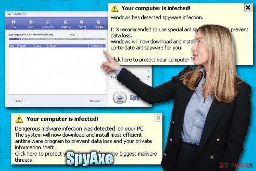 SpyAxe trojan