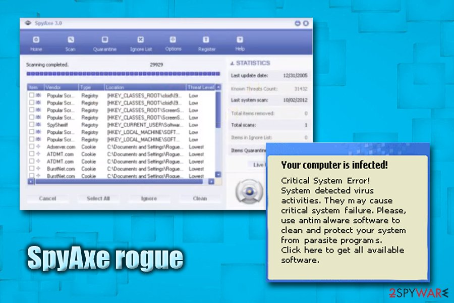 SpyAxe rogue