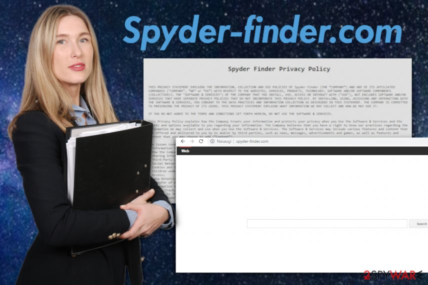 Spyder-finder.com virus