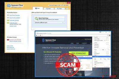 Spyware Clear virus