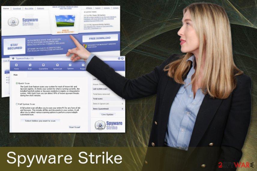 SpywareStrike trojan