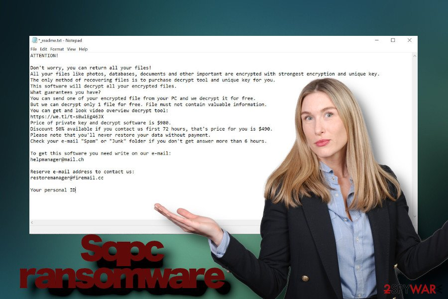 Sqpc ransom note