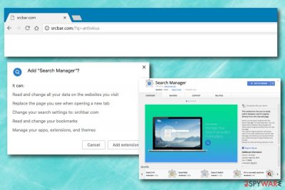 Srcbar.com virus