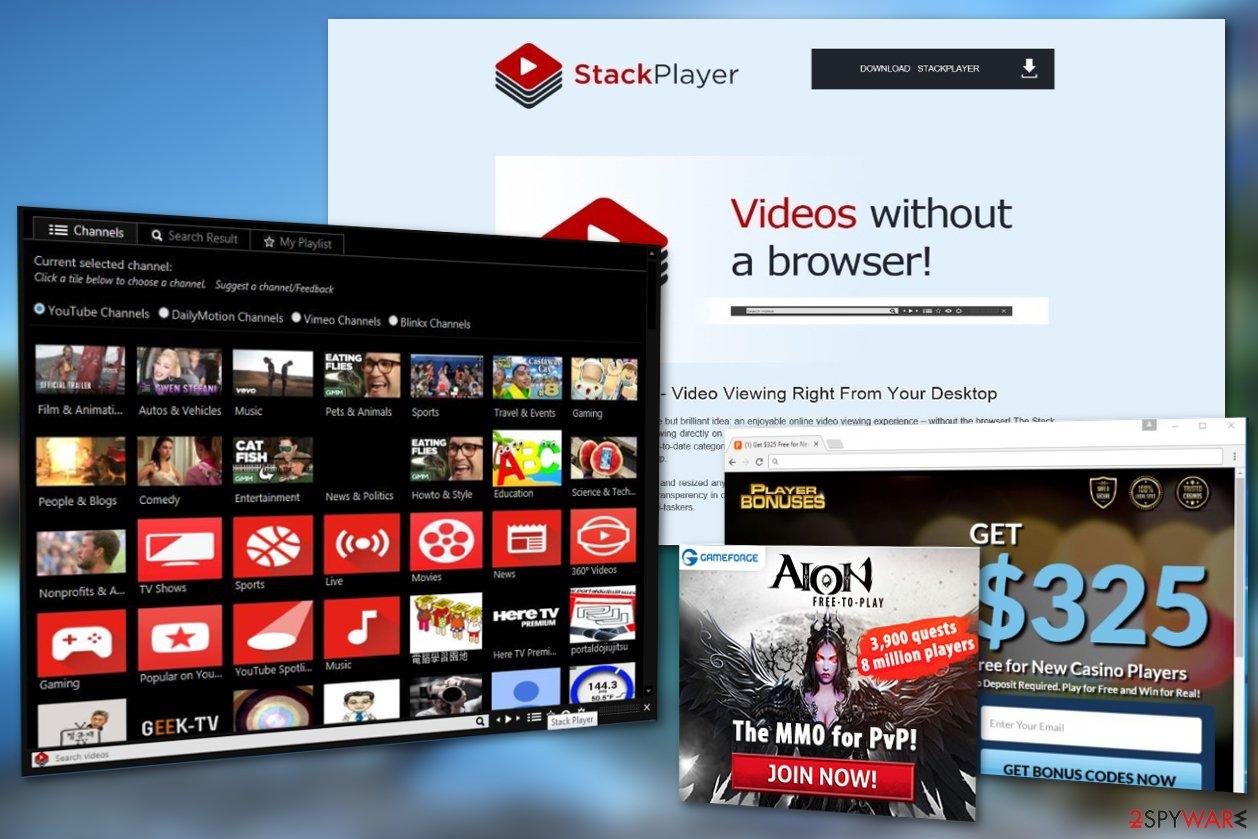 Stack Player virus