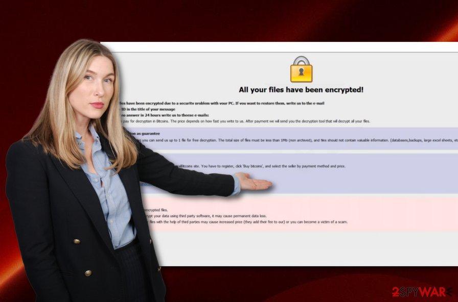 Start ransomware virus