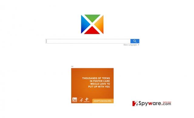 Start-search.com virus snapshot