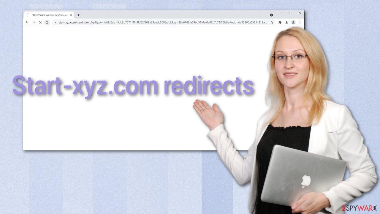 Start-xyz.com redirects