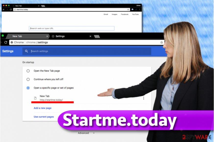 Startme.today redirect virus