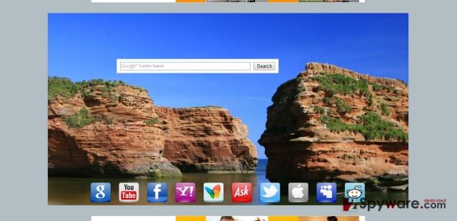 Startsear.info virus snapshot