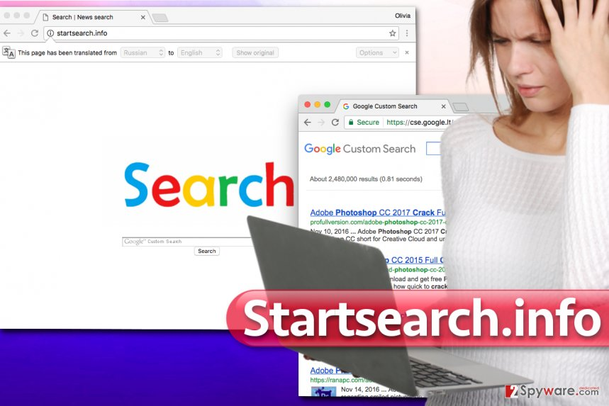 Startsearch.info virus