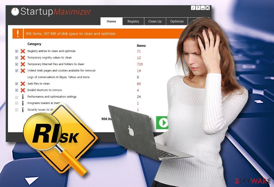 Startup Maximizer fake system optimizer