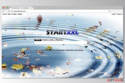 Screnshot of StartXXL search engine