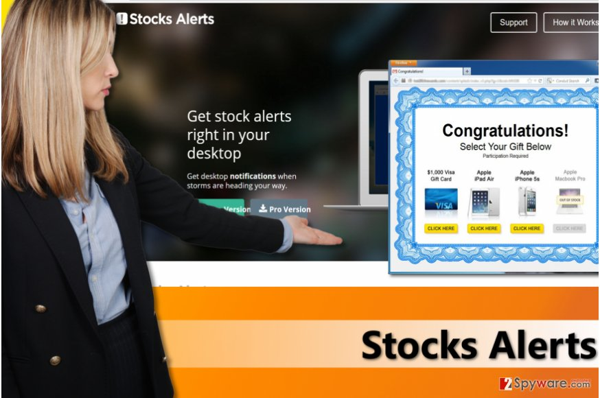 Stocks Alerts virus