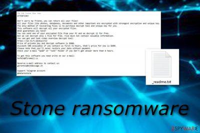Stone ransomware virus