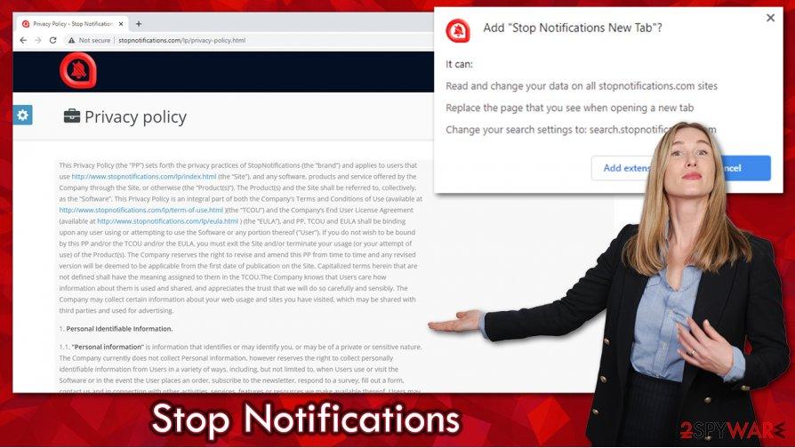 Stop Notifications virus