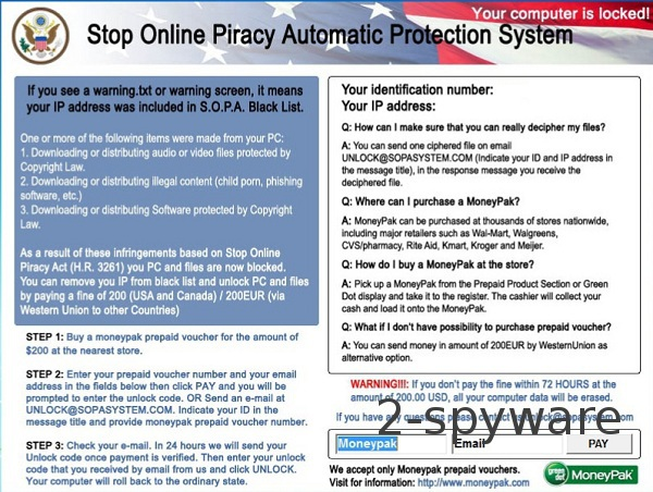 'Stop Online Piracy Automatic Protection System'